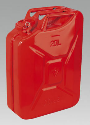 Sealey Jc20, Jerry Can, 20 Litre, Red, Fuel Containers