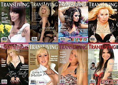 Transliving Crossdress Transgender Lifestyle Magazine Special 4 Issue Bumperpack