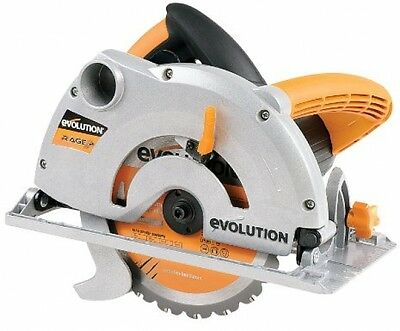 Evolution Power RAGE Circular Saw 15-Amp 7-1/4-in Corded Durable Heavy Duty New