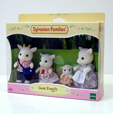 Sylvanian Families Goat Family +3A Cod.5185