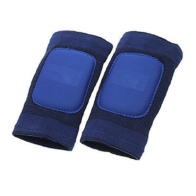 2pcs Blue Sports Knee Support JoInt Protector For Children BF