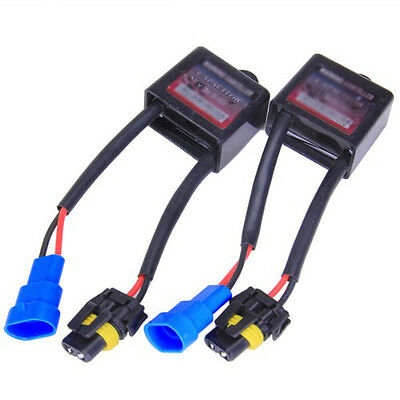 2 x HID Xenon Error Warning Cancellers Capacitors Decoders BF