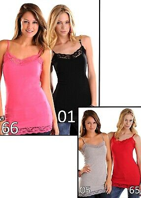 Panhandle Women's Lace Trimmed Tank Top J7A7683