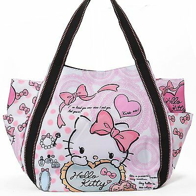 Hello Kitty limited 40th anniversary tote bag Mothers Sanrio F/S 1