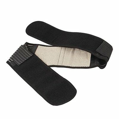 Magnetic Therapy Strap Back Support Belt Brace Heating Pain BF