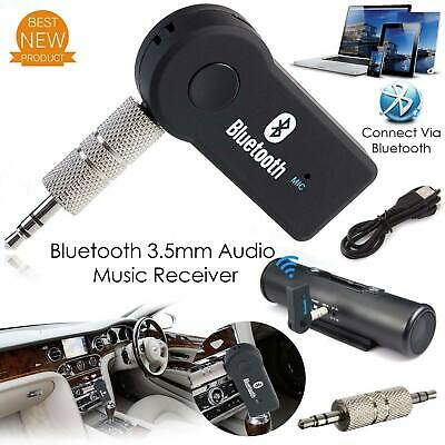 3.5mm AUX Wireless Bluetooth Music Receiver  Adapter Audio Car Stereo Hands-Free