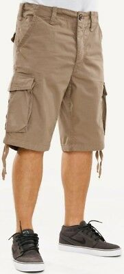 Reell Shorts New Cargo Ripstop taupe