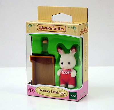 Sylvanian Families Chocolate Rabbit Baby +3A Cod.3410
