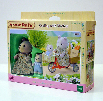 Sylvanian Families Cycling With Mother +3A Cod.2236