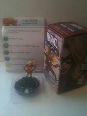 Marvel Heroclix #M-001 MS MARVEL / MOONSTONE Convention Exclusive LE PROMO