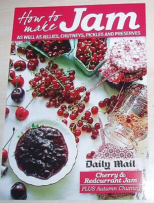 New Daily Mail How To Make Jam Recipe Card - Cherry and Redcurrant Jam & Chutney