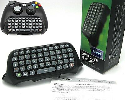 Wireless Controller Messenger Game Keyboard Keypad ChatPad For X BOX 360 X360