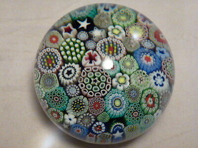 Orient & Flume Closepack Millefiori Paperweight by Greg Held 1987 RARELY SEEN