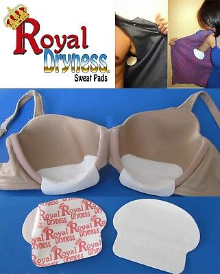16-30-60-90-120-160 Royal Dryness Disposable Bra Sweat Pads Shield
