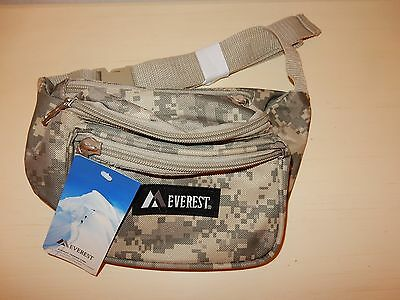 EVEREST Camo fanny waist pack DC-044KD D.Camo Unisex New with tags
