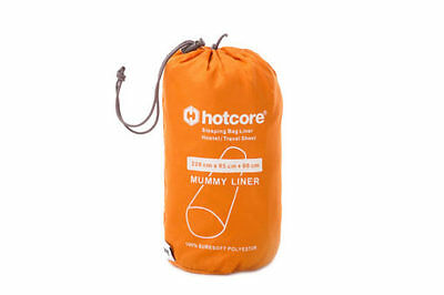 HOTCORE Soft-Touch sleeping bag liner / hostel travel sheet / pad slip cover