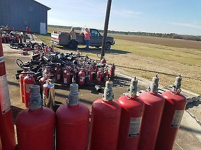 Ansul ABC Dry Chemical 50lb Fire Suppression Cylinders