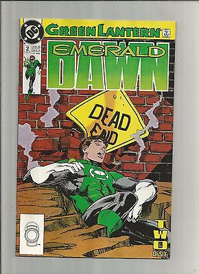 Green Lantern: Emerald Dawn #2 (Jan 1990, DC) Dead End, v99