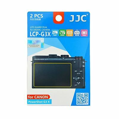 JJC LCP-G3X Camera LCD Screen Protector Guard Film Cover for Canon Powershot G3X