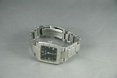 Men's Perry Ellis Watch APE9306 Silver Tone For Parts Not Working