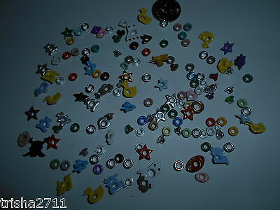 Assorted Eyelets - 80 Lovely Lot!