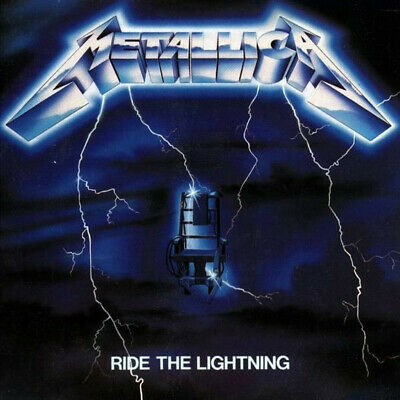 Metallica Ride The Lightning 2016 US remastered vinyl LP +download NEW/SEALED