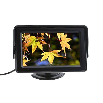 "4.3"" Color TFT LCD Car Rearview system Monitor for Camera DVD VCR BF"