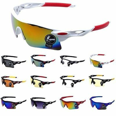 Cycling Sun Glasses Outdoor Sport Bicycle Bike Riding Eyewear Goggle UV400 Lens