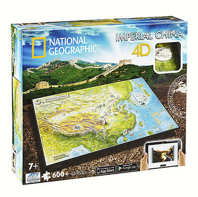 Puzzle 4D National Geographic Imperio Chino