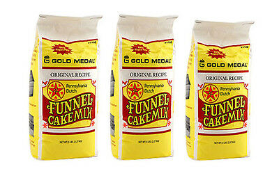 Funnel Cake Mix, Three 5 Pound Bags, Gold Medal 5100, ***FREE SHIPPING****