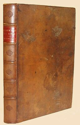 1490 Incunable Caracciolus Kesler Basel Folio Beautiful Leather Medieval Monk