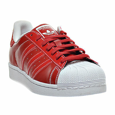 premium selection d335c ed65d Adidas Superstar Low Sneakers Men Shoes Red White D69299 Size 12 New
