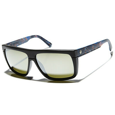 New Electric Sunglasses Black Top Midnight Oil/Grey Silver EE12854721 RRP$160
