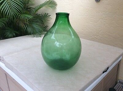 "Antique HUGE Demijean ""Eau Du Vie"" Bottle From Alsace, France"
