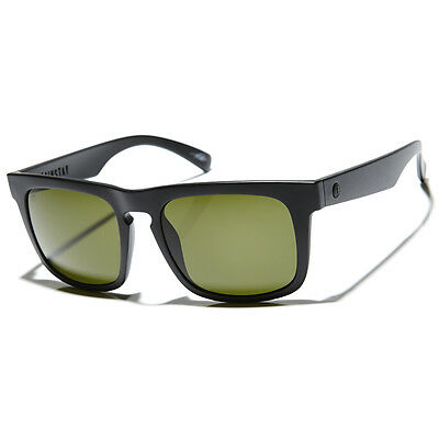 New Electric Sunglasses Mainstay Matte Black/OHM Grey Lens EE13601020 RRP$140