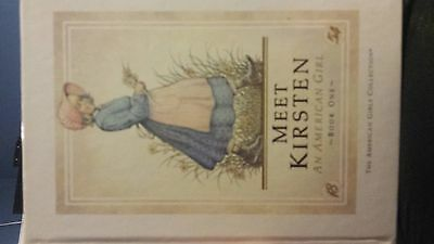 American girl doll Kirsten books first edition
