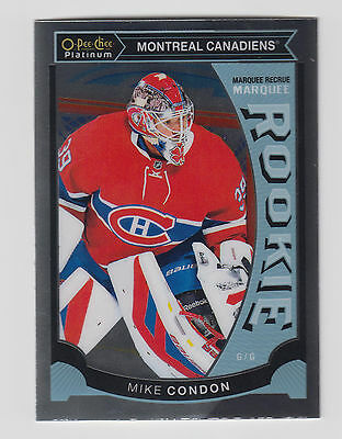 MIKE CONDON 2015-16 O-Pee-Chee Platinum Marqueee Rookie #M32 Canadiens