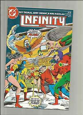 Infinity, Inc. #5 (Aug 1984, DC) The JSA is ALive, g10