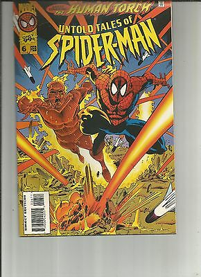 Untold Tales of Spider-Man #6 (Feb 1996, Marvel) Human Torch,d6