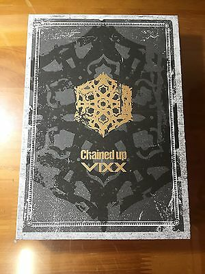 VIXX 2nd Album Chained Up Freedom Ver. CD Offici K-POP[No PhotoCard, PhotoPaper]