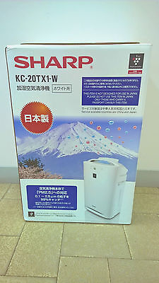 SHARP Air Purifier Plasmacluster Ion Humidifier Help Allergy Sufferer Made in JP