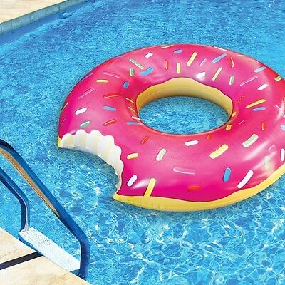 FLOTADOR DONUT GIGANTE (1,20 m.) Playa piscina Hinchable - Original de BIG MOUTH