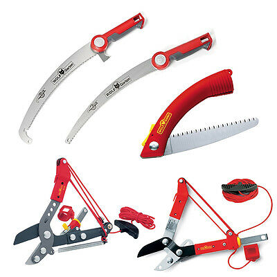 Wolf-Garten Tree Care Various Tools Loppers Pruning Saw Professional Folding