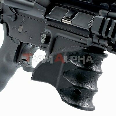 Black Tactical MWG Magazine Foregrip Mag Well Magwell Handle Hand Grip CQB 5.56