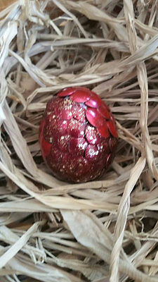 Small red Fire Dragon/Dinosaur egg, ] Game of Thrones, Harry Potter, LotR