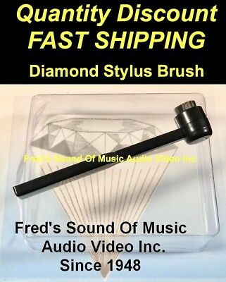 Stylus Brush BEST RATED Carbon Fiber Bristle Record Needle Cleaner SEE VIDEO