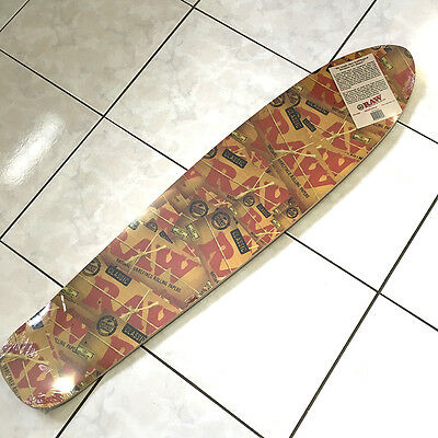 RAW Rolling Papers Longboard Limited Edition CANADA SHIPPED