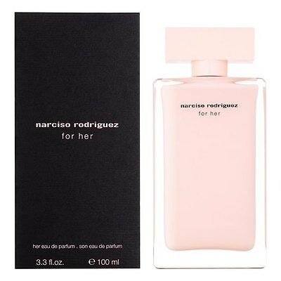 Narciso Rodriguez FOR HER Eau de parfum EDP 100ml - profumo originale DONNA