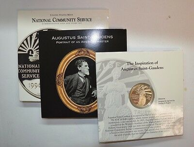 1996 United States Mint National Community Service Commemorative Coin  CPS344