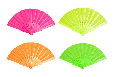 Plastic Chinese Japanese Dancing Hand Folding Portable Fan Wedding Party Decor